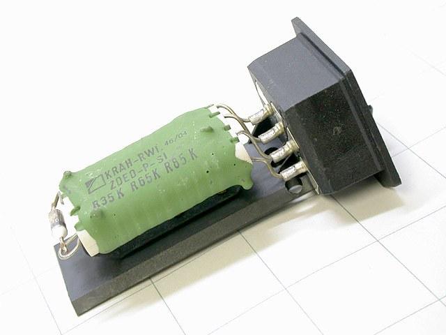 Bmw E36 Ac Heater Blower Motor Resistor Oem Climate