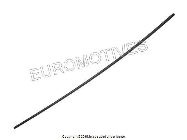bmw e53 front windshield moulding upper trim seal oem glass weatherstrip x5 3 0