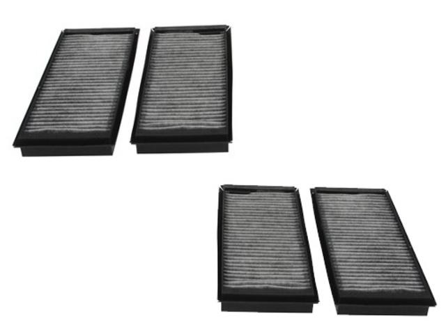 For BMW M3 2008-2012 e90 e92 e93 Cabin Pollen Air Filter Set Oem Corteco New
