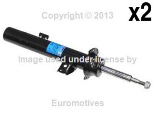 For BMW E60 06-10 STD Strut Front Left+Right x2 OEM SACHS Shock Absorber Damper