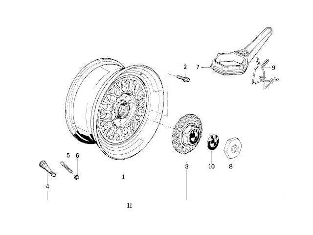 bmw e32 e34 wheel center caps bbs 15 u0026 39  u0026 39   style 5  set 4