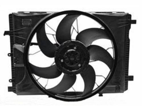 Radiator Fan Assembly compatible with C-CLASS 08-15 E-CLASS 10-16